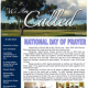 NEW ISSUE ! We are Called -Ministry Newsletter – Summer 2016