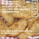 Hispanic Ministry will be selling Empanadas on Oct. 29th | Pre-Sales on Oct. 22nd