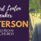 Lenten Speaker – Tom Peterson  from Catholics Come Home- February 23rd & 24th- Get your tickets online!