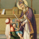 Blessing of the Throats in honor of St. Blaise