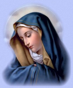 May - The Month of  The Blessed Virgin Mary