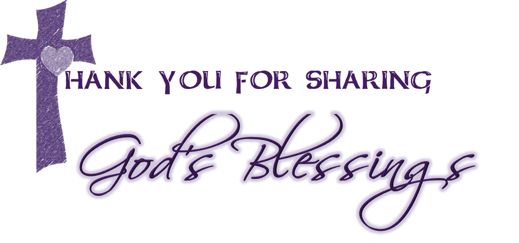 thank you for sharing Gods blessing