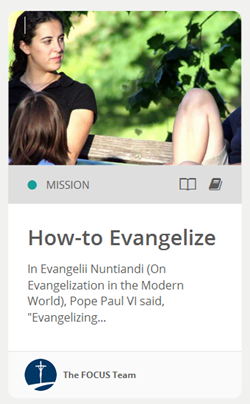 How to Evangelize