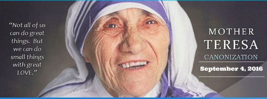 Mother Teresa Canonization - Sept. 4 2016