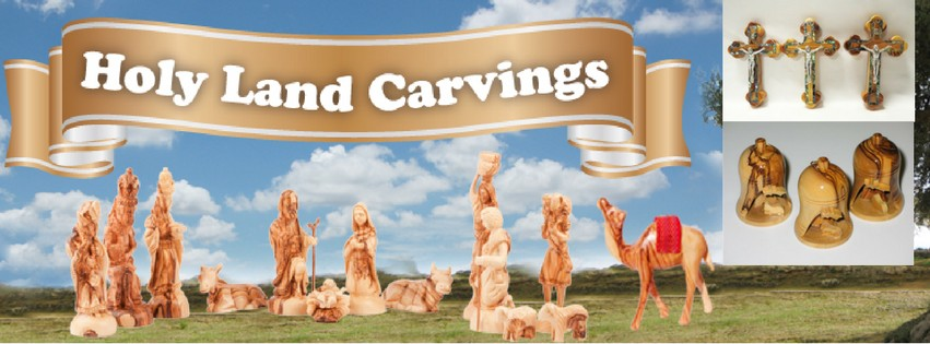 Support Bethlehem Christian Families: Carvings for purchase after Masses this weekend -Aug. 27th & 28th!