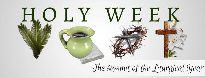 Holy Week- March 25th - 31st