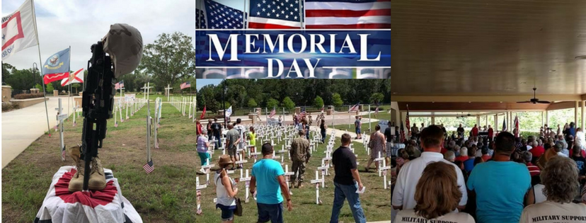 Florida's Fallen Memorial Cross Observance May 20th – 28th & Memorial Day Tribute – Monday, May 28th