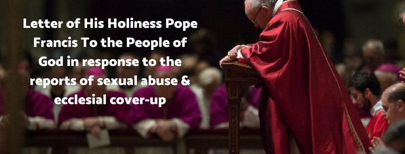 Pope calls for solidarity and penance in Letter on abuse crisis