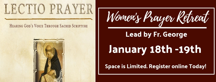 Lectio- Women's Prayer Retreat 2019
