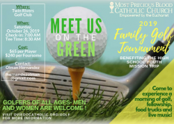 2019 MPB Family Golf Tournament - All are welcome to sign up!  Don't miss out!