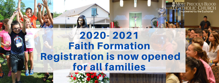 Faith Formation Registration