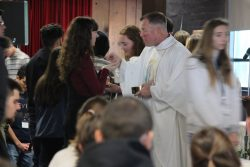 MPB welcomes back our CCM students to 5:30 PM Mass