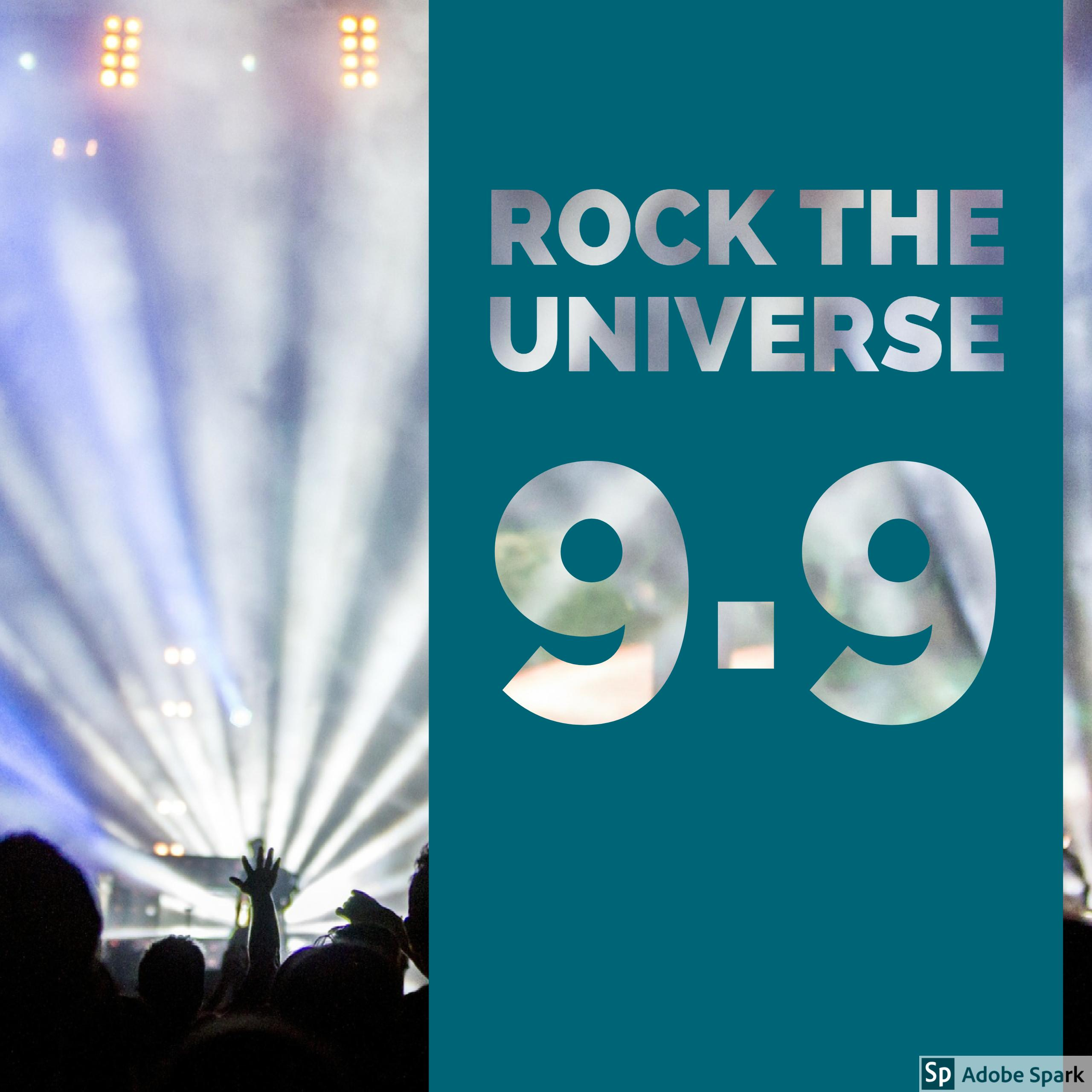 Rock the Universe Post
